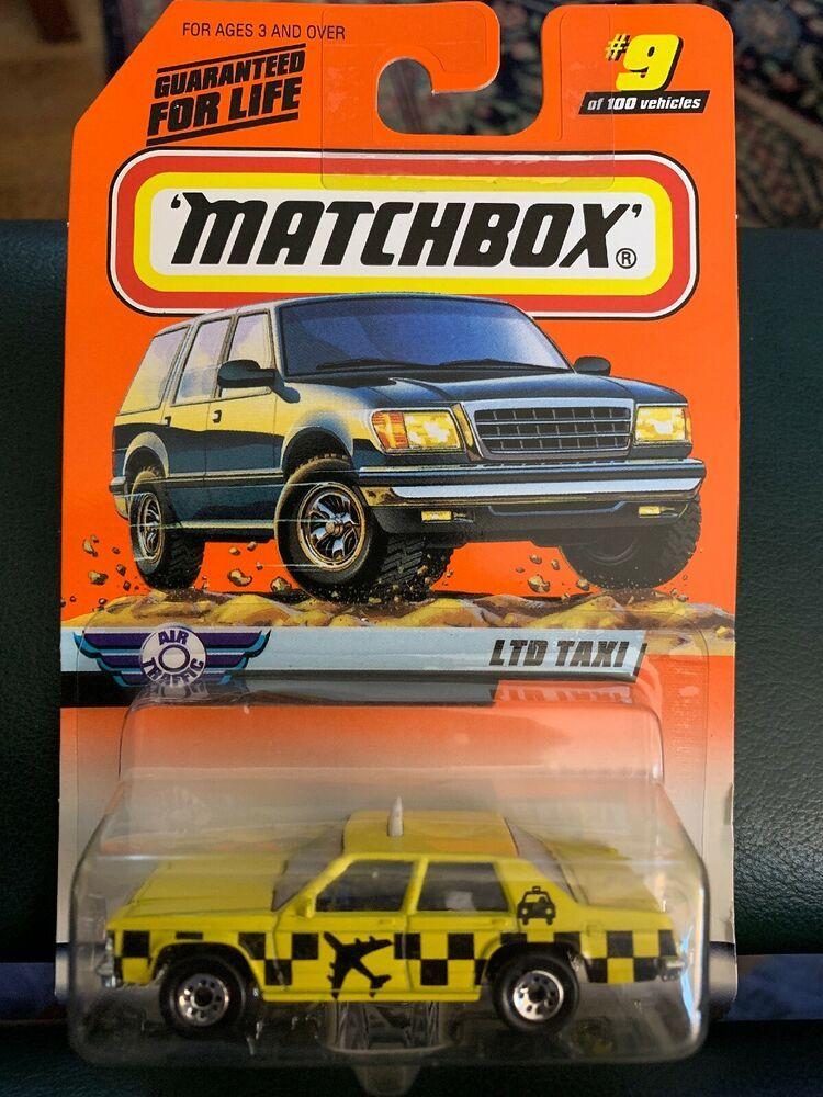 Matchbox 9 Ford Ltd Taxi Yellow Car Air Traffic Series 2 Ebay