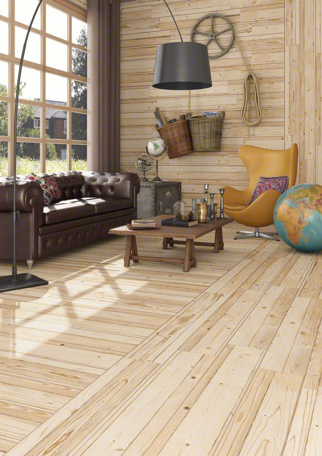 The Wood Look Tile Trend Is Going Strong And We Ve Discovered Some Amazing Design Ideas For Grain Effects Lied To Porcelain Ceramic