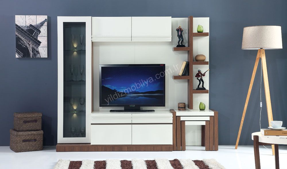 linda tv unitesi tv mobilya modern kitaplik furniture yildizmobilya pinterest h ultra modern furniture living room tv unit designs modern tv wall units
