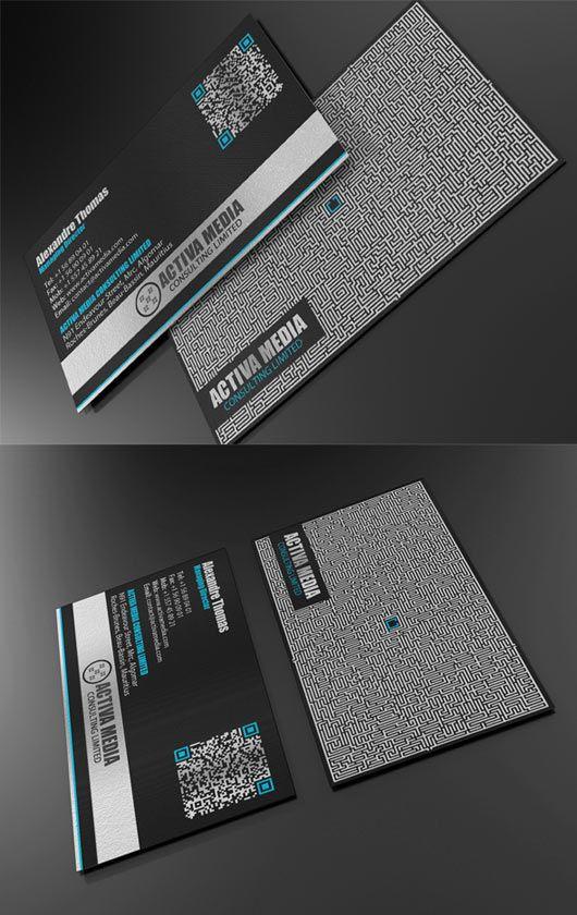 Black Business Card Designs Inspiration Business Card