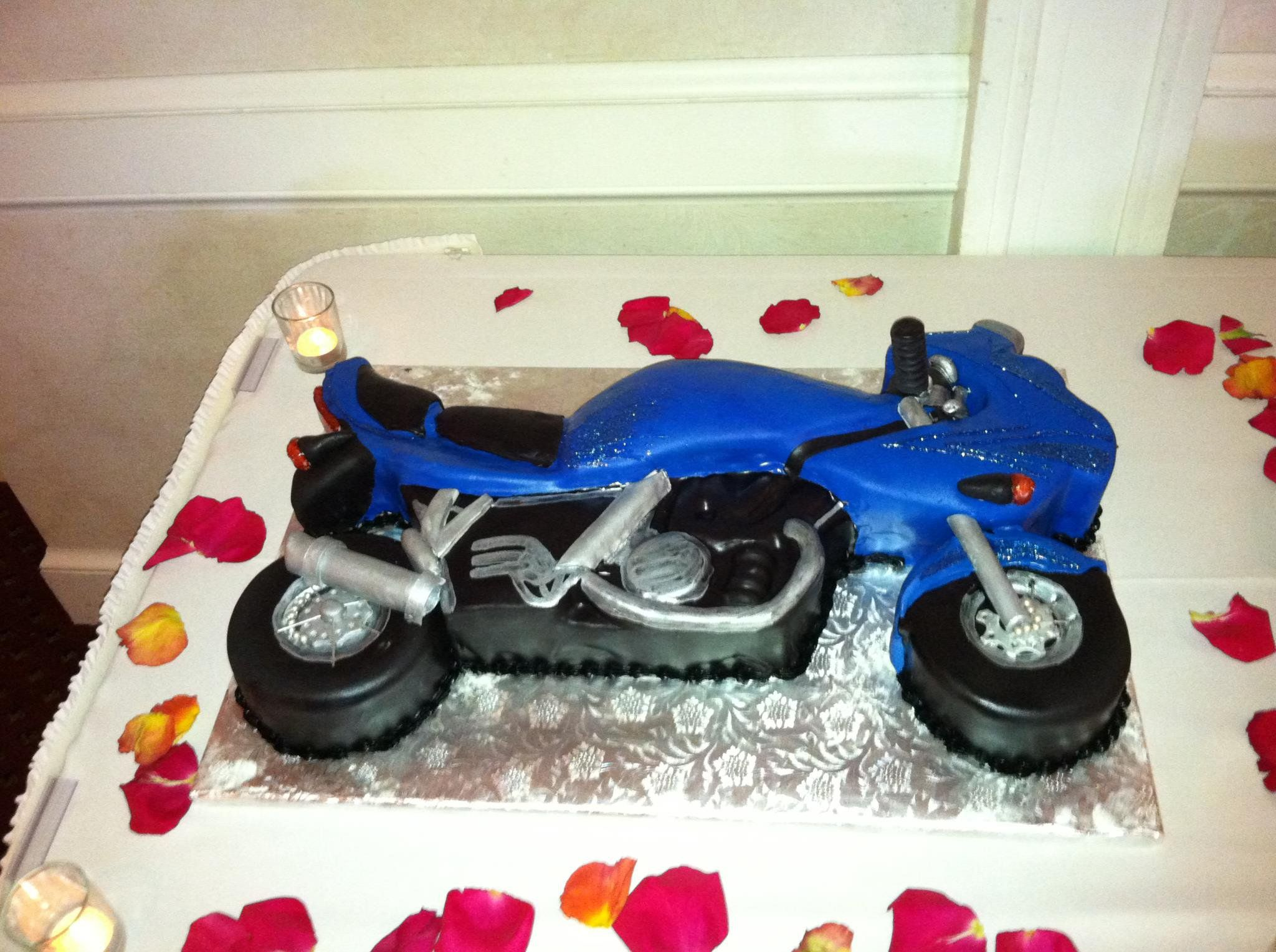 Carved Motorcycle Cake Toy Car Motorcycle Cake Motorcycle