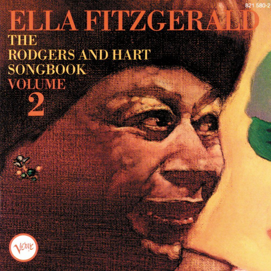Ella Fitzgerald The Rogers And Hart Songbook Volume 2 Ella Fitzgerald Fitzgerald Songwriting