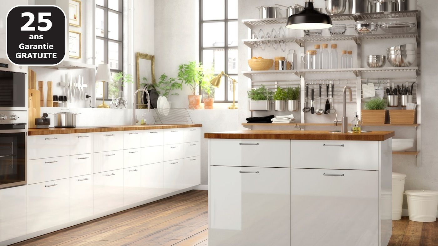 Page Finitions Cuisine Voxtorp Blanc Brillant En 2020 Cuisine Ikea Petite Cuisine Ikea Placard Cuisine