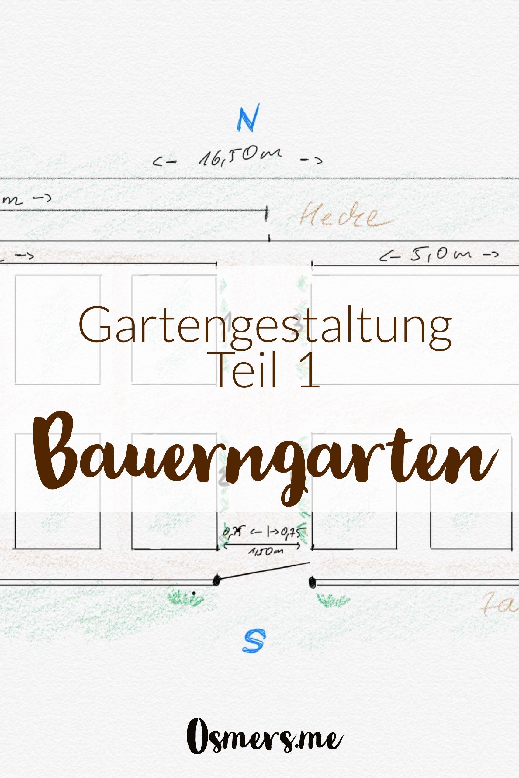 Gartengestaltung Teil 1 Garten Planen Osmers Garten Garten Planen Gartengestaltung Bauerngarten Anlegen