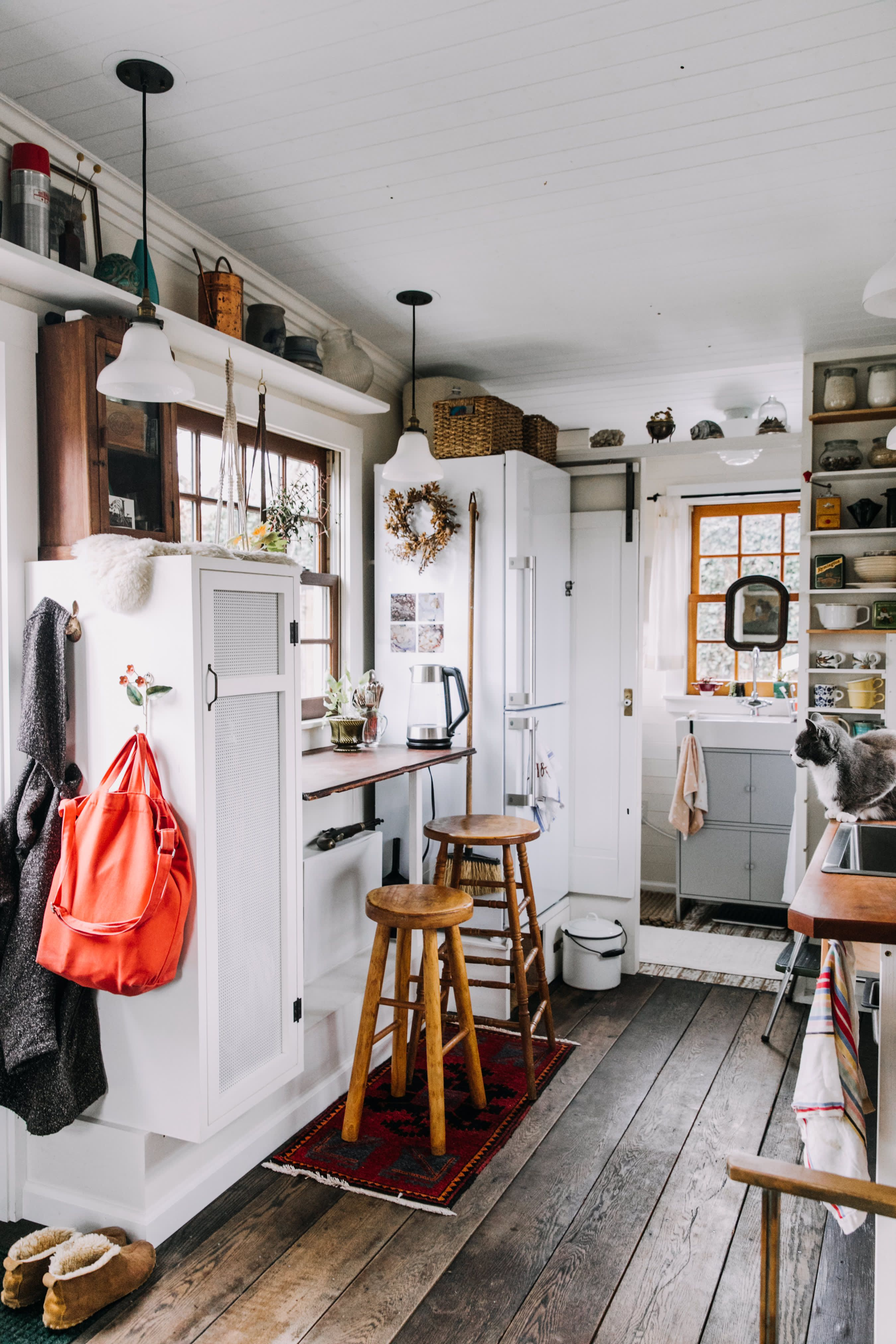 5 Big Organizing Lessons We Learned From This 160 Square Foot Tiny House Tiny House Kitchen Tiny House Storage Tiny House Interior Design