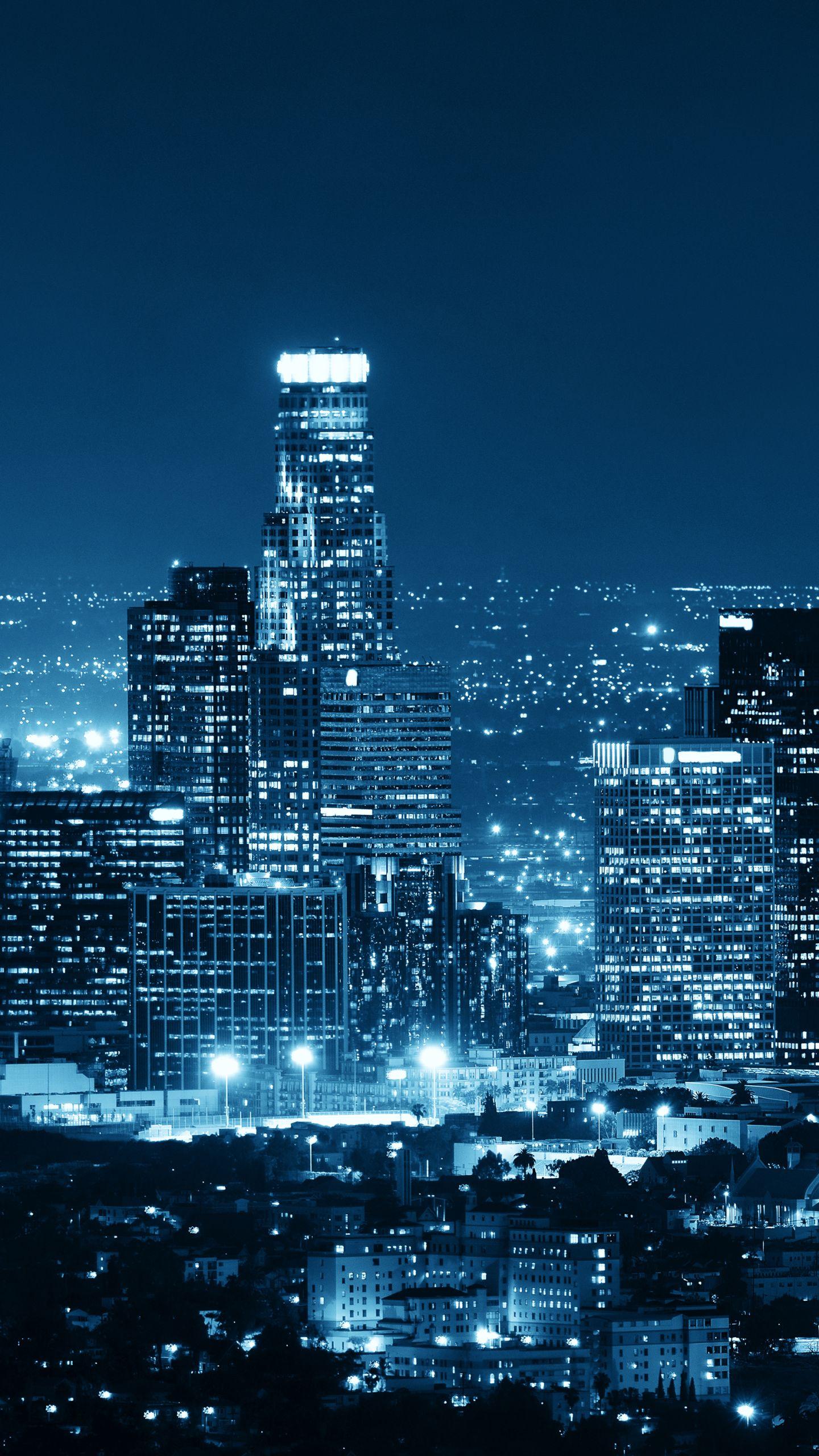 Обои На Телефон Ночной Город