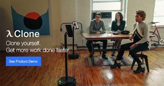 Meet Clone The World 39 S First Smart Office Telepresence Robot