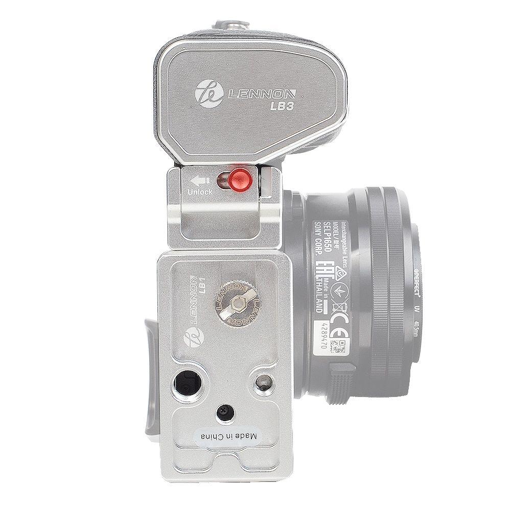 PU70 QR Plate for DSLR Canon Sony Nikon Pro BENRO GD3WH Tripod Geared Head
