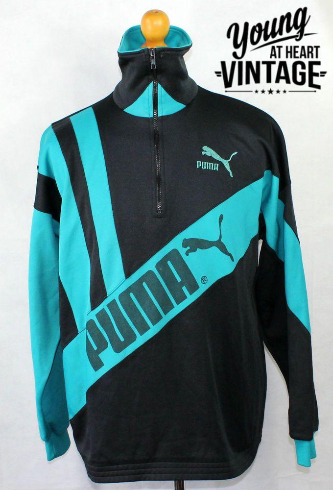 6e6dcbdcace4 Men s vintage 80 s PUMA tracksuit jacket. Urban renewal.  vintage  tracksuit   puma  urban