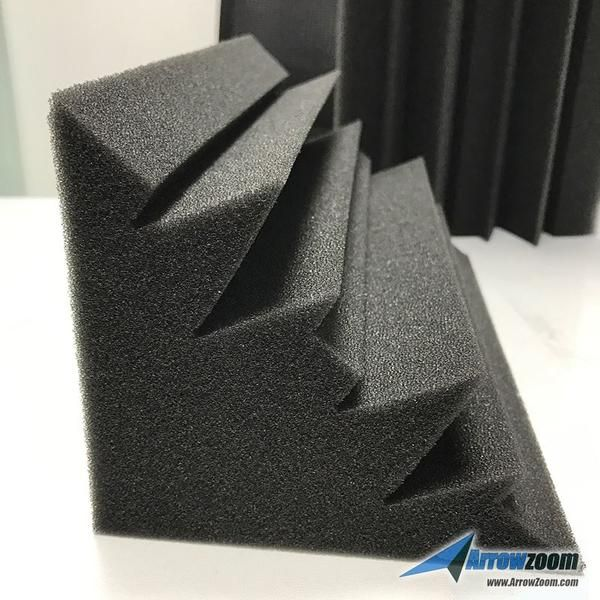 brand new bass trap acoustic foam made by imported high quality foam foam high density acoustic foam cell structure for maximum noise