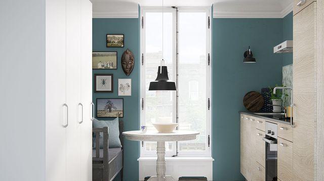 Aménager Petite Cuisine Idées Relooking Petite Cuisine - Renovation meuble cuisine pour idees de deco de cuisine