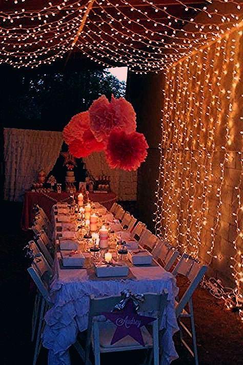 Photo of Unter den Sternen Tween Teen Outdoor Geburtstagsfeier Planungsideen Dekor –  #dekor #den #geb…