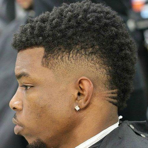 black men's mohawk hairstyles