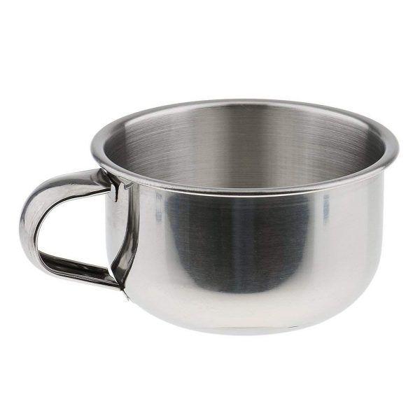 Shaving Soap Bowl For Men Stainless Steel High Quality