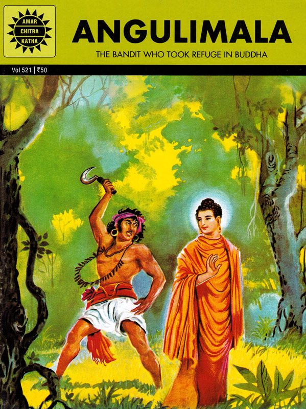 Angulimala The Bandit Who Took Refuge In Buddha Bangla Comics Buddhism Books Indian Comics