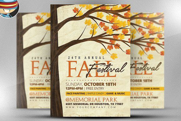 Rustic Fall Flyer Template Flyer Template Fall Flyer Copy Of Fall