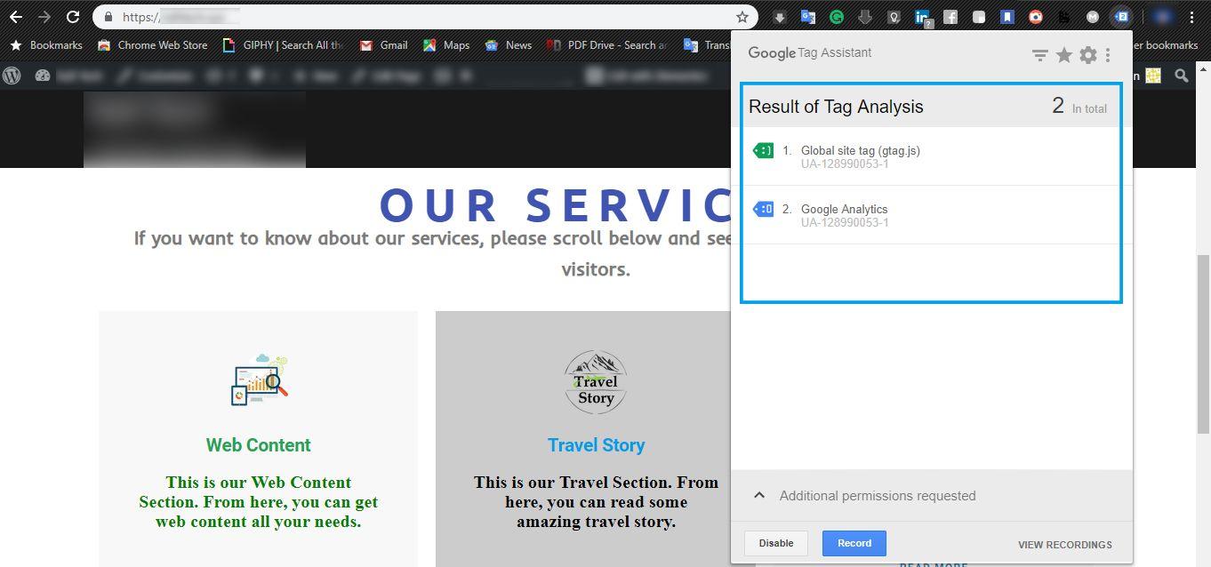 Google Tag Manager Google analytics, Chrome web, Google