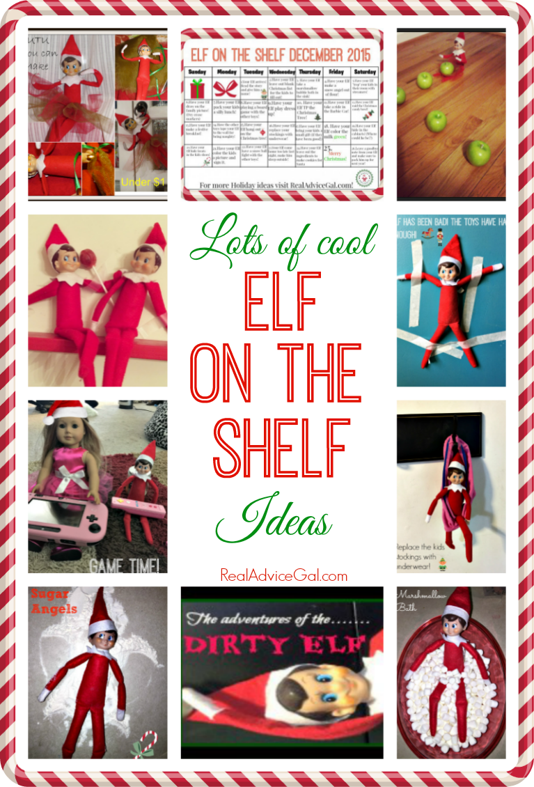 8df9536833 Lots of cool and fun Elf on the Shelf Ideas