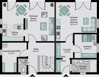 Mehrfamilienhaus schlüsselfertig bauen mit STREIF | Architecture ...