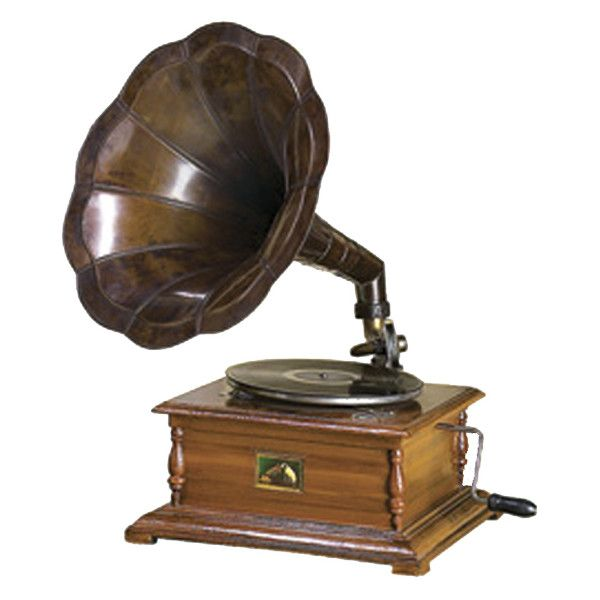 Antique Rca Victor Phonograph Gramophone Replica 500 Ebay Item Liked On Polyvore Gramophone Record Player Gramophone Old Fashioned Record Player