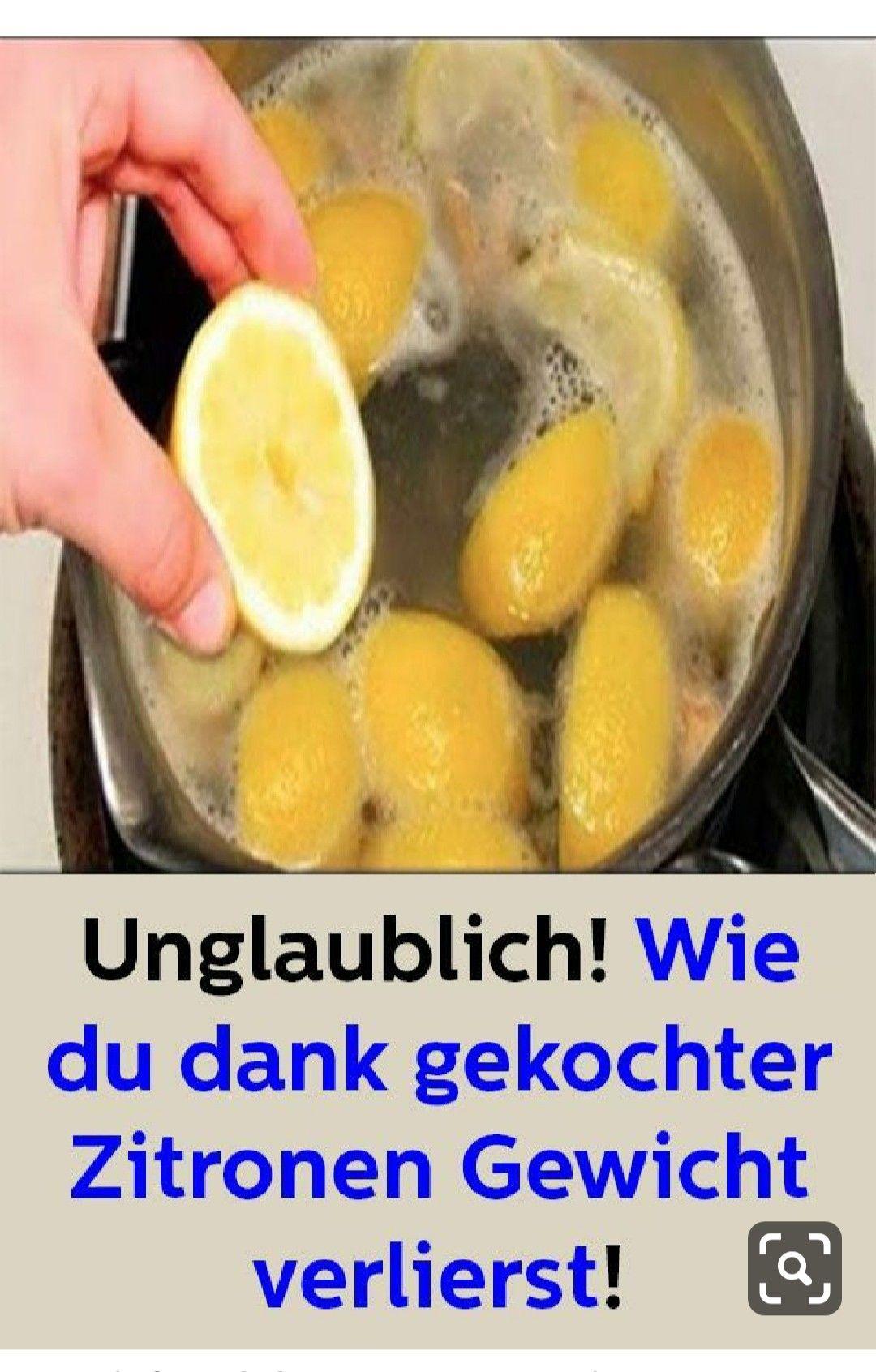 Backen mit Zitrone, um nachts Gewicht zu verlieren