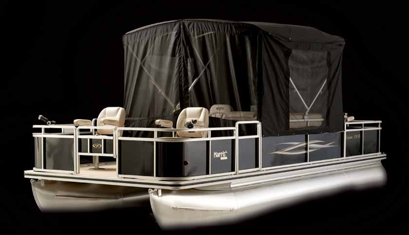 Enclosed Bed Google Search: Enclosed Pontoon Boat - Google Search