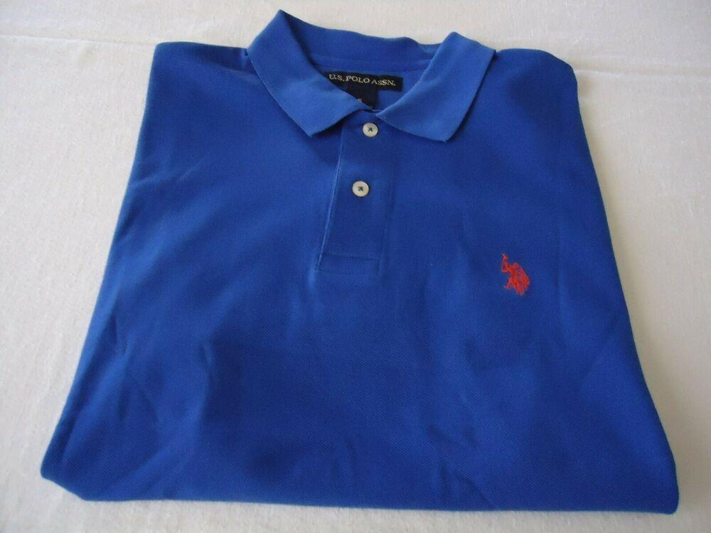 Details About U S Polo Assn Ralph Lauren Polo Shirt Sz S Collar 2