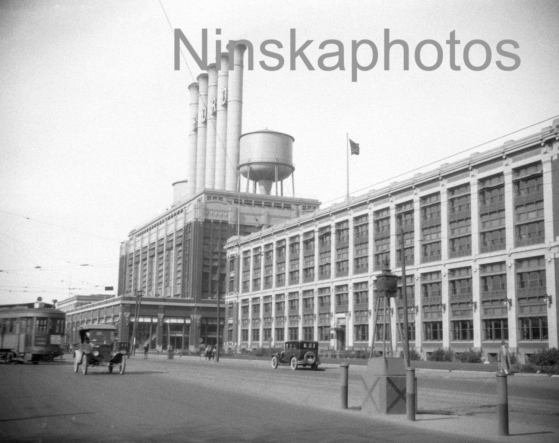 Ford Motor Company Works Highland Park Detroit Michigan