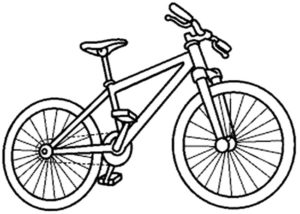 Imagen Bicicleta Para Pintar Facil Buscar Con Google Bike Drawing Bike Craft Bike Illustration