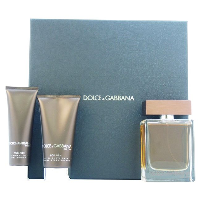 Dolce & Gabbana The One Men's 3-piece Gift Set (1), Pink grapefruit