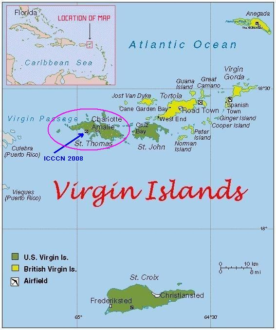 St Croix Virgin Islands St Martin and St Thomas One of the