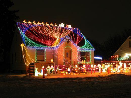 Charmant Top Christmas Light Displays