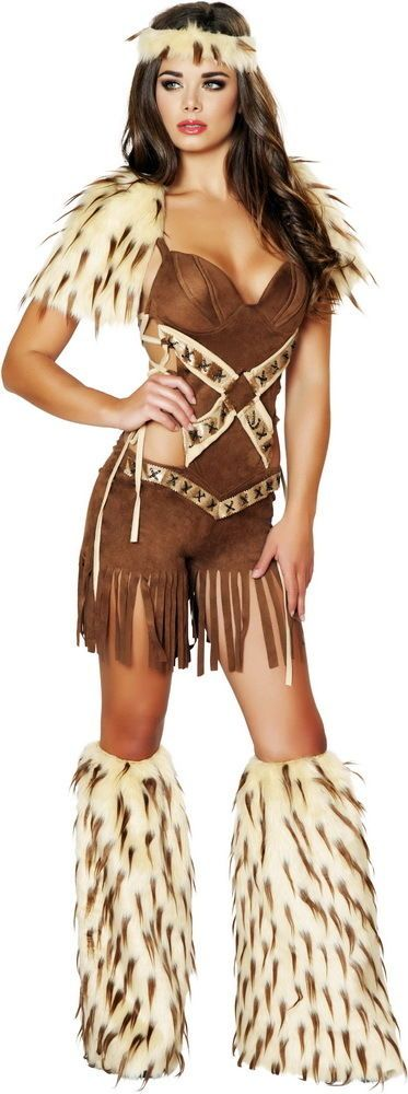 sexy native american indian tribal warrior romper halloween costume adult women in clothing shoes - Native American Costume Halloween
