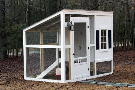 Custom Chicken Coop Plans