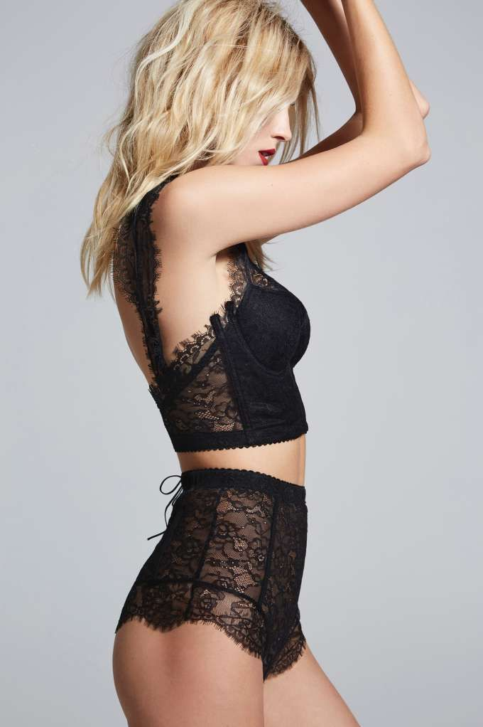Love, Courtney by Nasty Gal Sugar Coma High-Waisted Lace Panty ...
