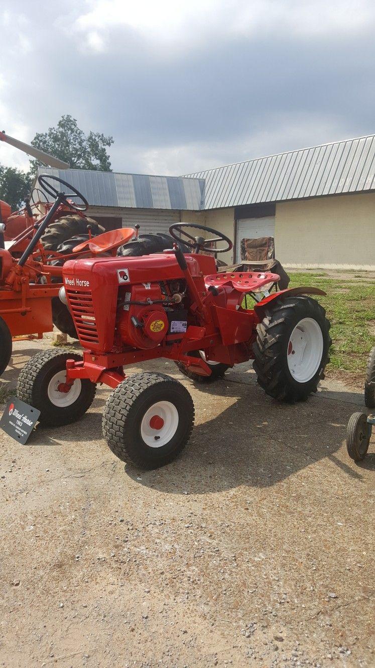 653 wheel horse riding lawnmower outdoor power
