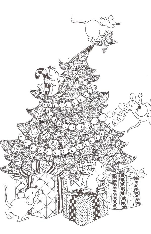 Zentangle made by Mariska den Boer 85