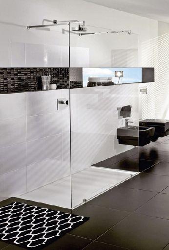 Barrierefreie Duschen im Trend-Design