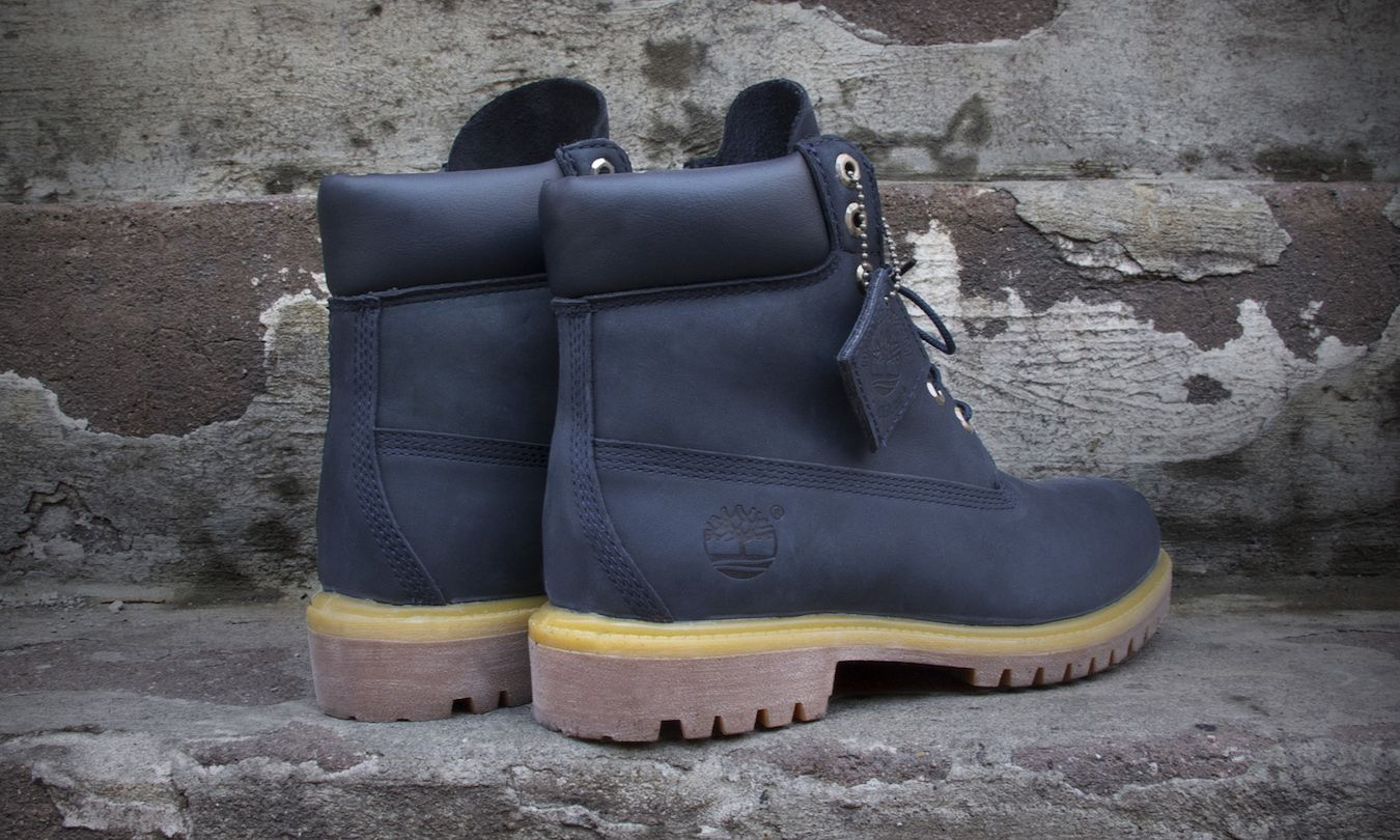Timberland 6inch navy blue