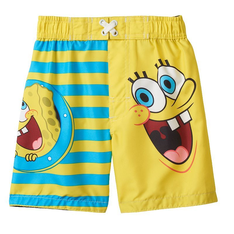 f6e132579f SpongeBob SquarePants Stripe Swim Trunks - Toddler Boy. Find this Pin and  more on Kids Swim Wear ...