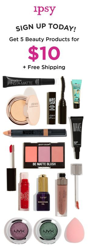 Receive 5 beauty products every month for just $10/month! Makeup bags personalized just for you. ipsy was founded by Michelle Phan. Get great beauty offers. Subscribe now!