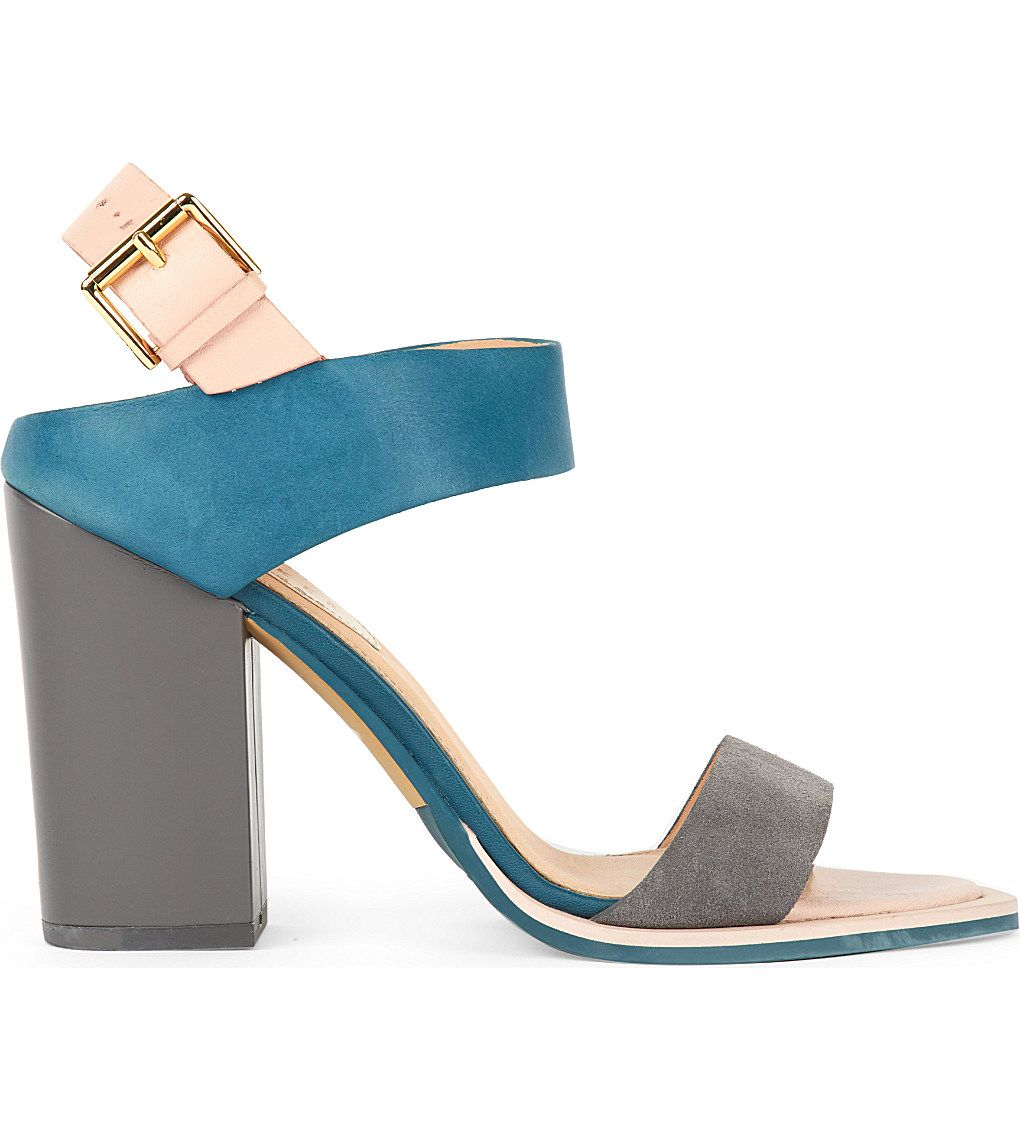 Bridal Shoes Selfridges: TED BAKER - Paalet Leather Sandals
