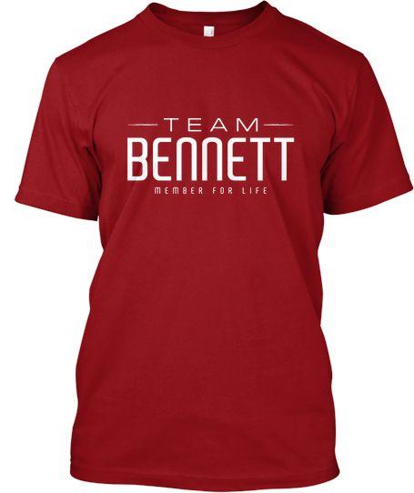 Team Bennett Tee Design Teespring Shirts Custom Clothes T Shirt