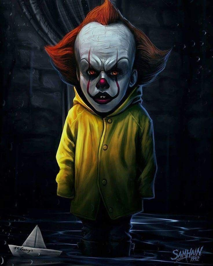"Horror Movie Art IT 2017 ""Pennywise"" by Samhain Horror"