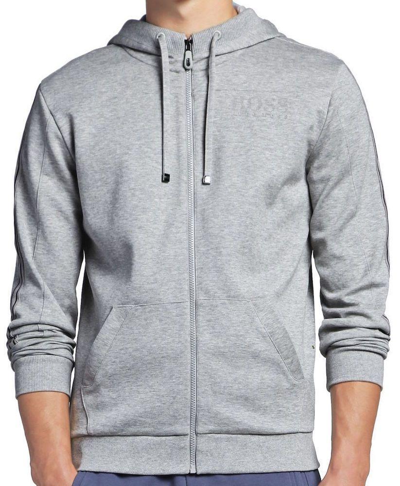 Mens Long Sleeve Cotton Hoodie Best Boss Ever Sweatshirt