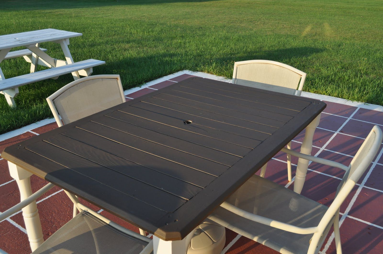Replacing Broken Glass In Patio Table Here Is A Picture