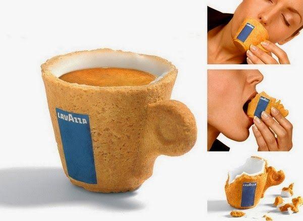 dripdrop.gallery Edible Espresso Cup by Lavazza