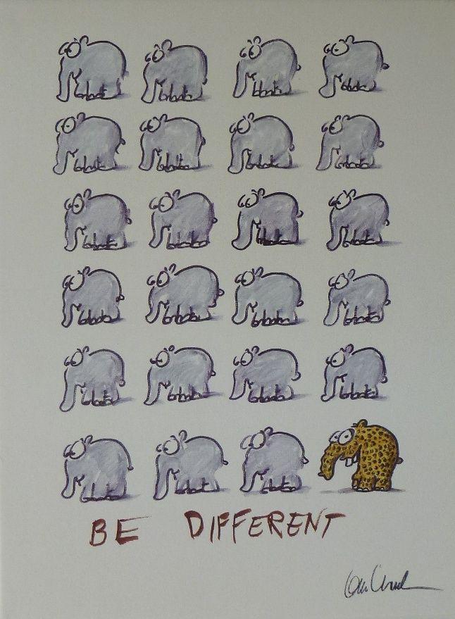 Otto Waalkes Elefant Gemalde Zeichentrick Lustige Bilder