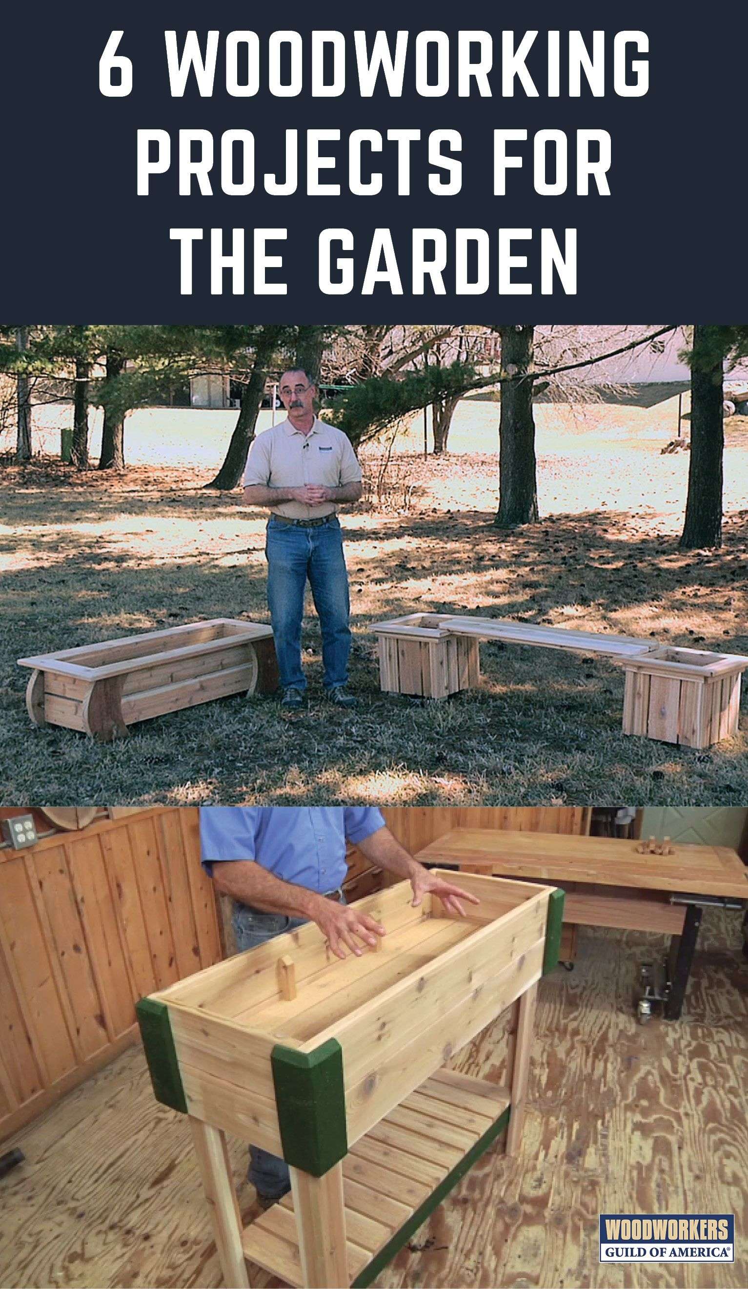 6 woodworking projects for the garden | woodworking projects