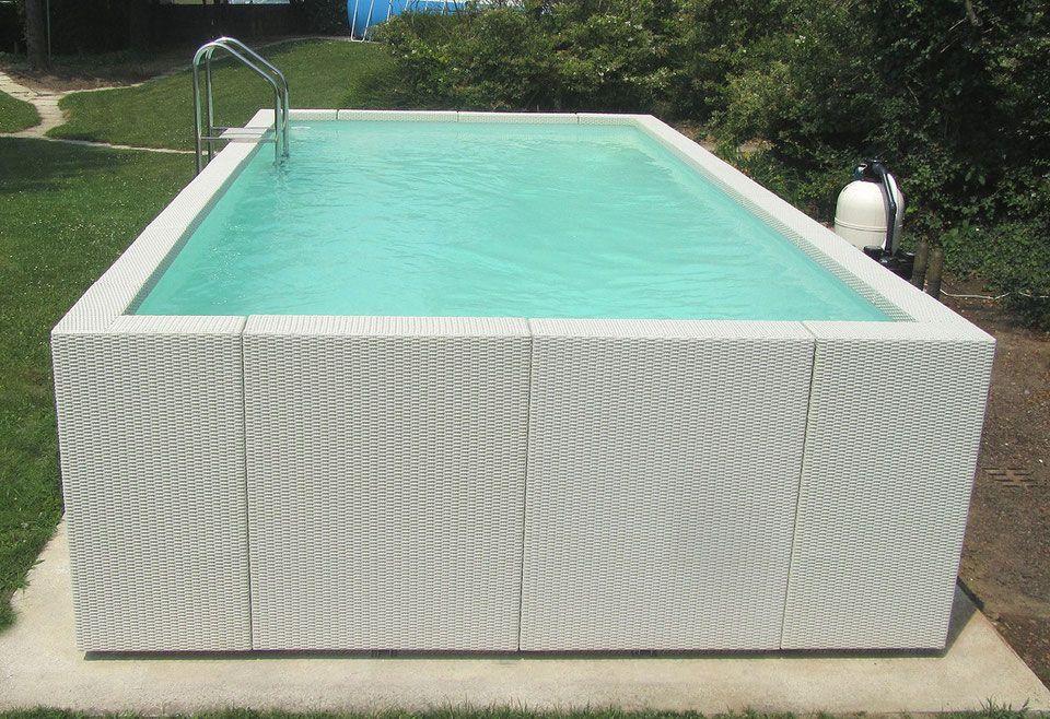 SHOP Pool25 Aufstellpool Shop Wasserbecken garten